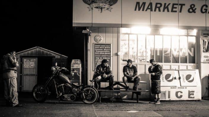 Otis Oregon Gasstation