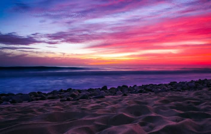 sundown san pedrito beach