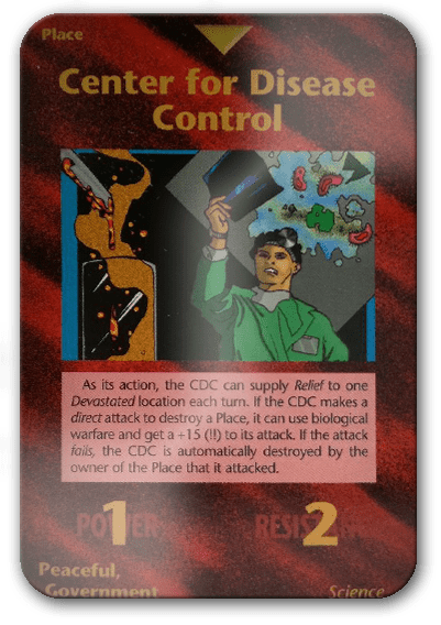 CDC Illuminati Card Game