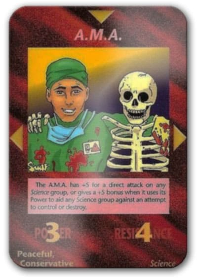 A.M.A. Illuminati Card Game