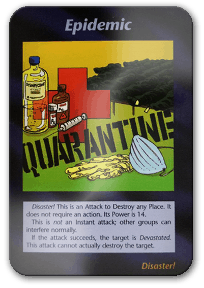 Epidemic Illuminati Card Game