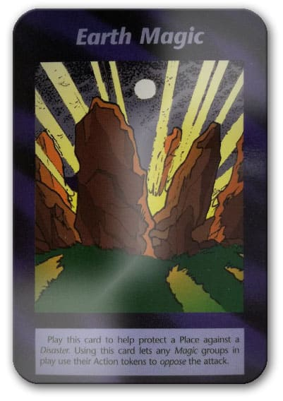 Earth Magic Illuminati Card Game
