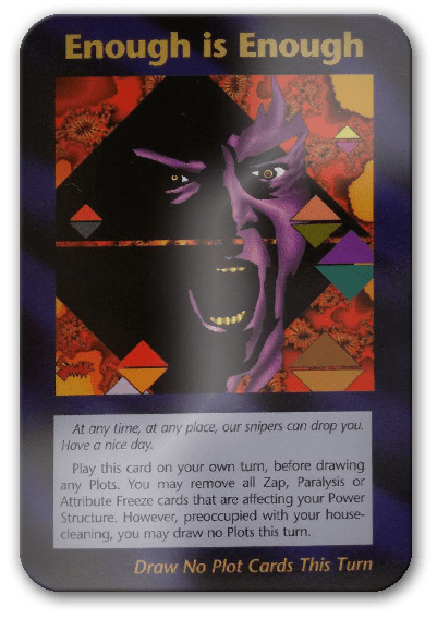 Enough Is Enough Illuminati Card Game