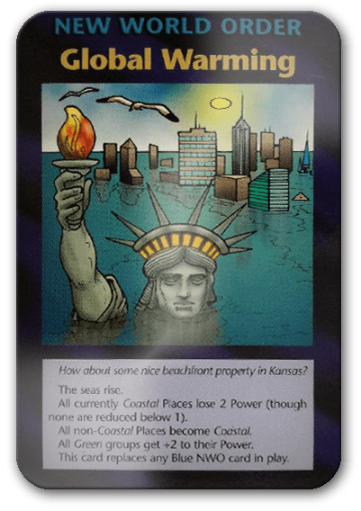 Global Warming Illuminati Card Game