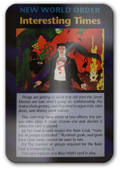 Interesting Times Illuminati Card Game