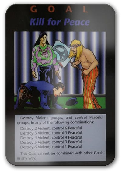 Kill For Peace Illuminati Card Game
