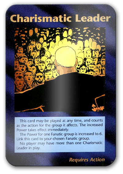 Charismatic Leader Illuminati Card Game