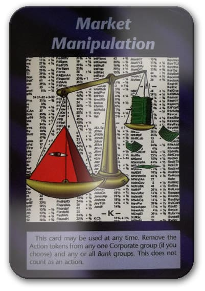 Market Manipulations Illuminati Card Game