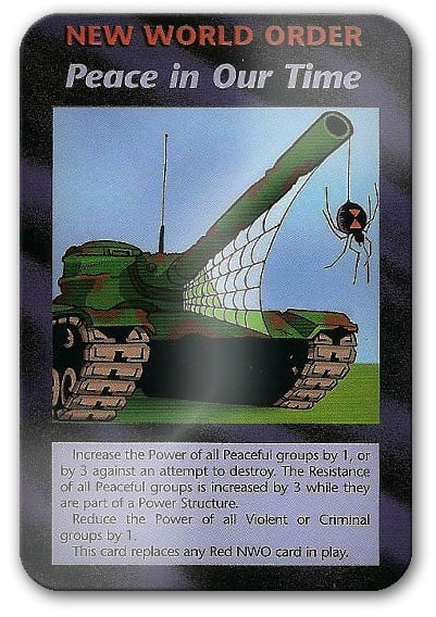 World Peace Illuminati Card Game