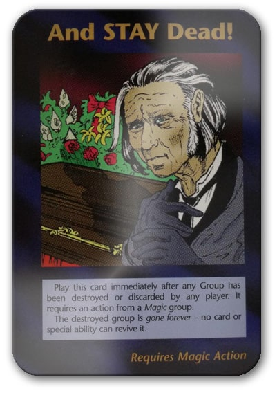 And Stay Dead Illuminati Card Game