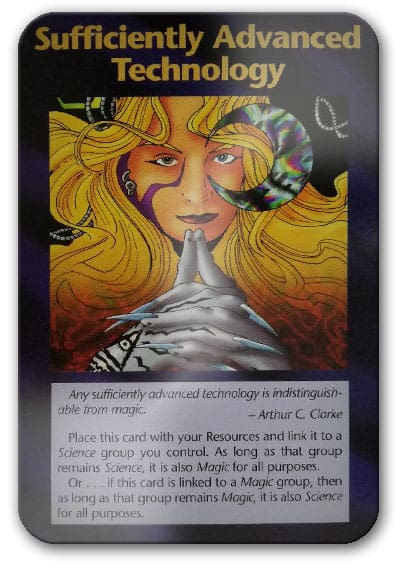 Advanced Technology Illuminati Card Game