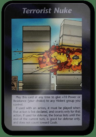 Terrorist Nuke Illuminati Card Game