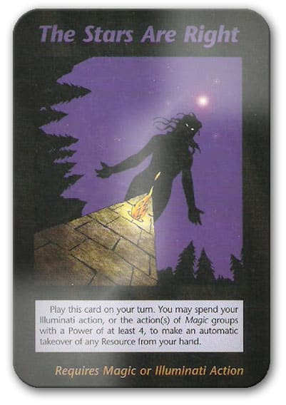 Stars Are Right Illuminati Card Game