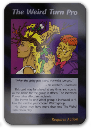 Weird Turn Pro Illuminati Card Game