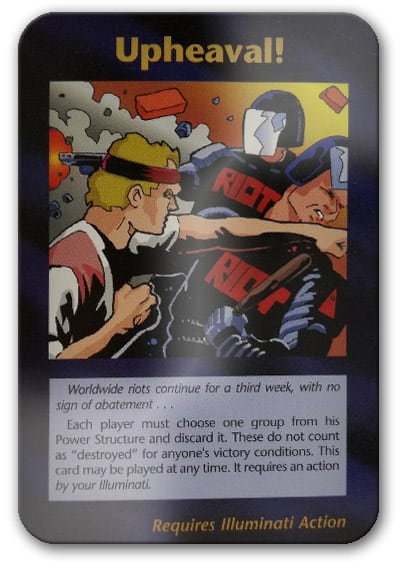 Upheaval Illuminati Card Game