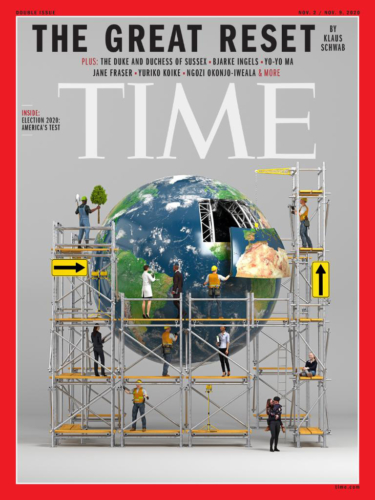 Time Magazine Cover The Great Reset