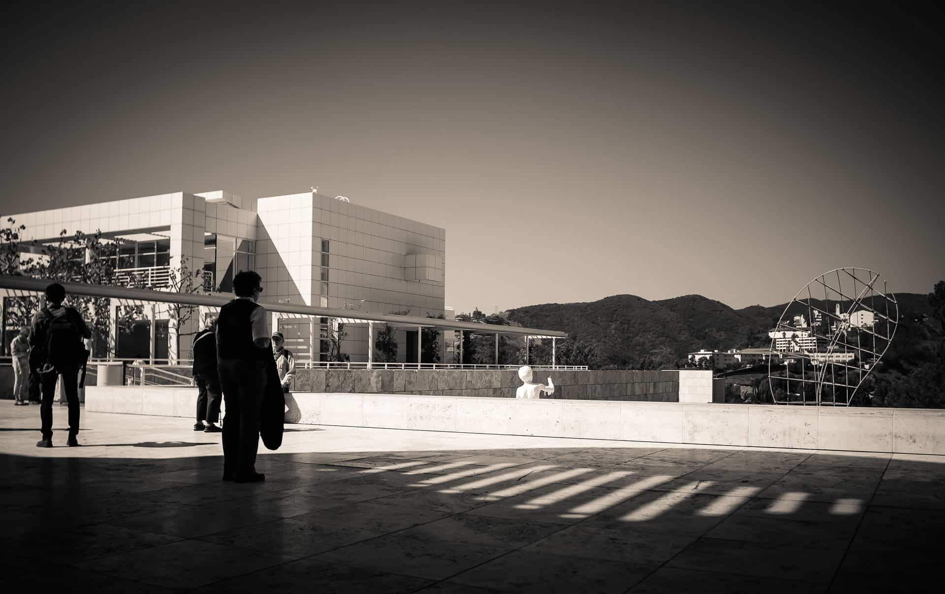 A report on a visit to the getty museum