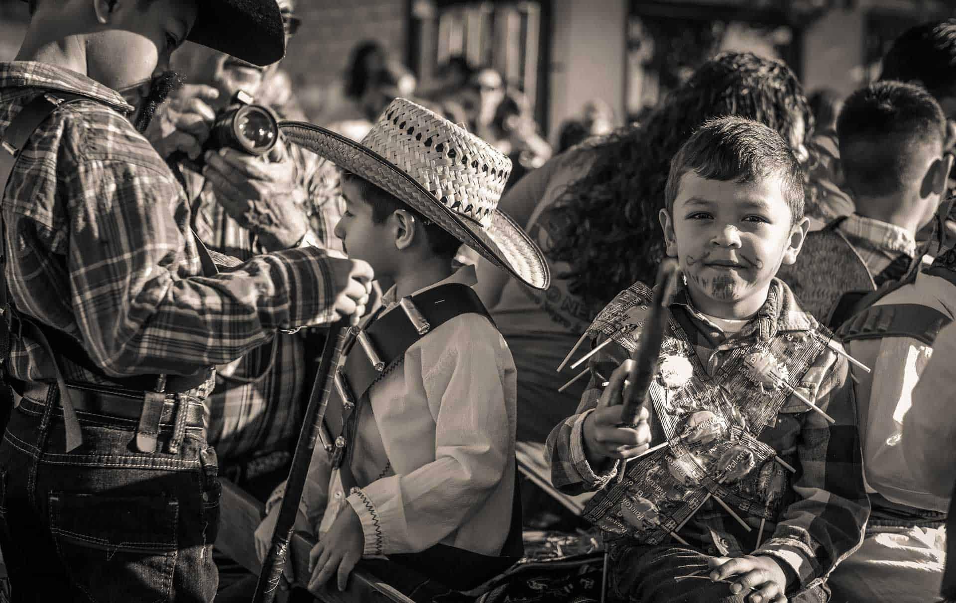 Guerrero Negro Baja California Mexico Revolution Celebration Parade Photography