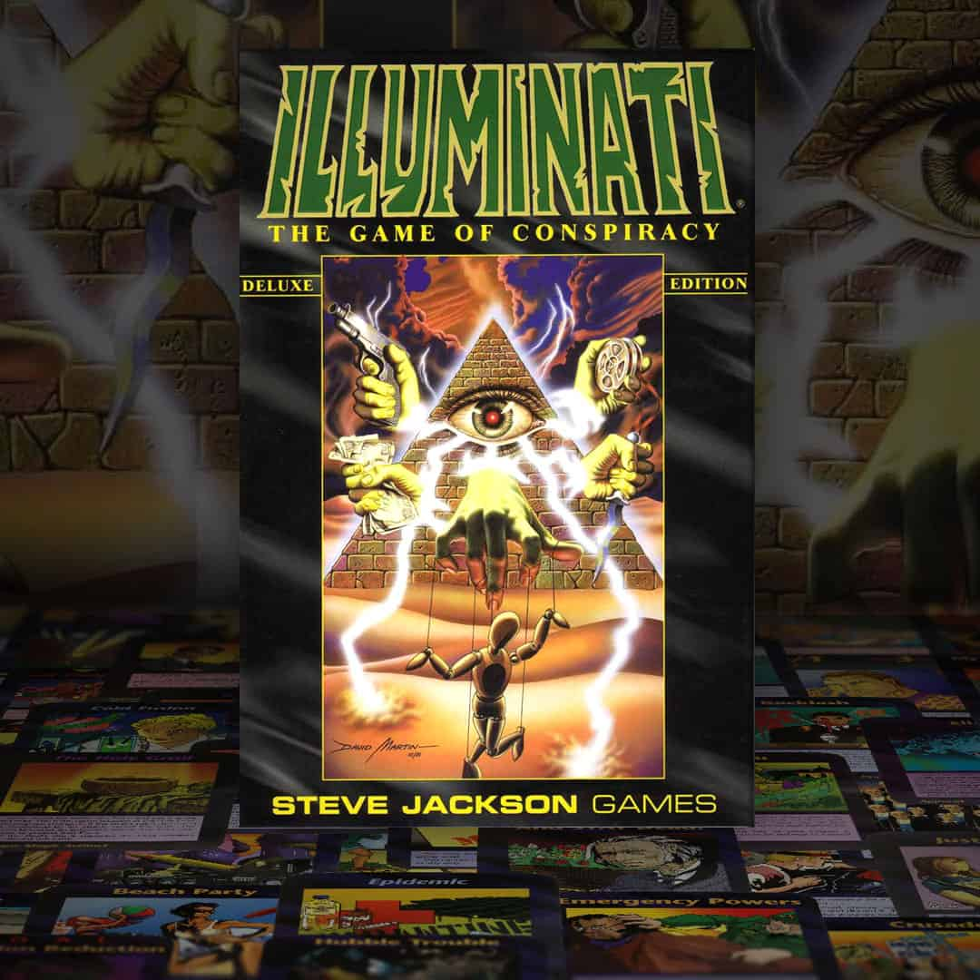 Illuminati Card Game Box