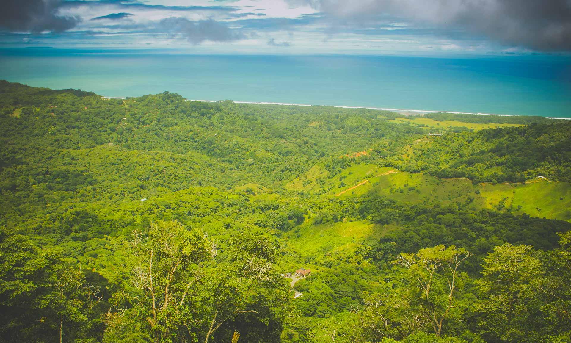 Pacific ocean Costa Rica