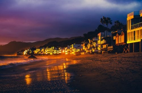 malibu beach california photography road trip