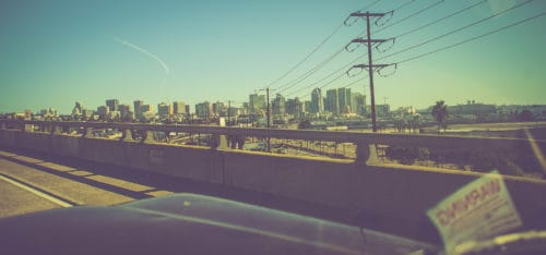 Skyline San Diego California Road Trip Photography