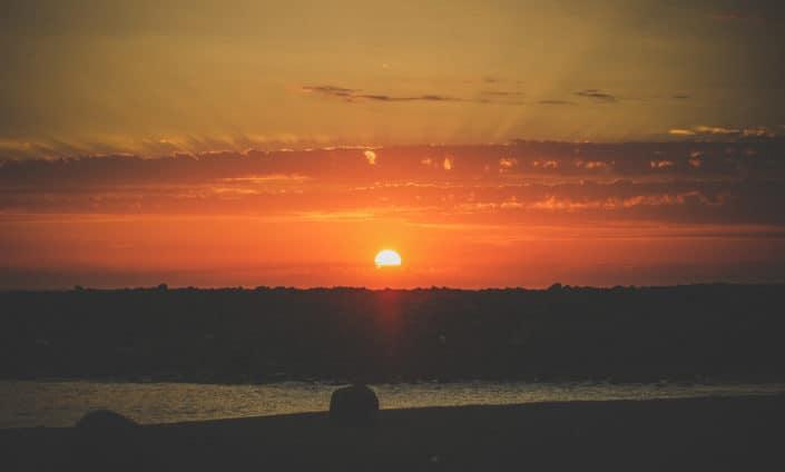 Sundown San Miguel Ensenada Baja California