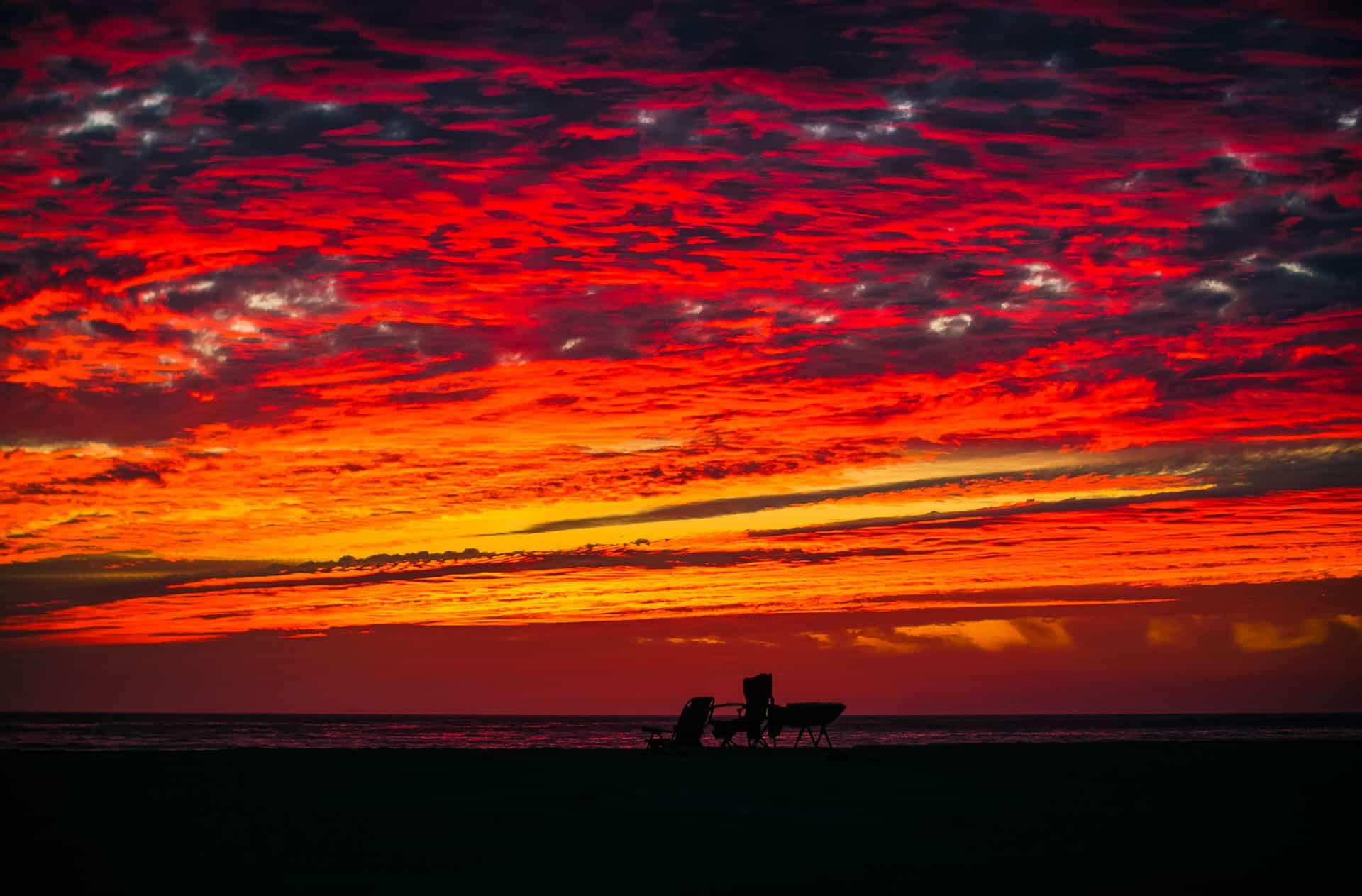 San Pedrito Beach El Pescadero Sundown