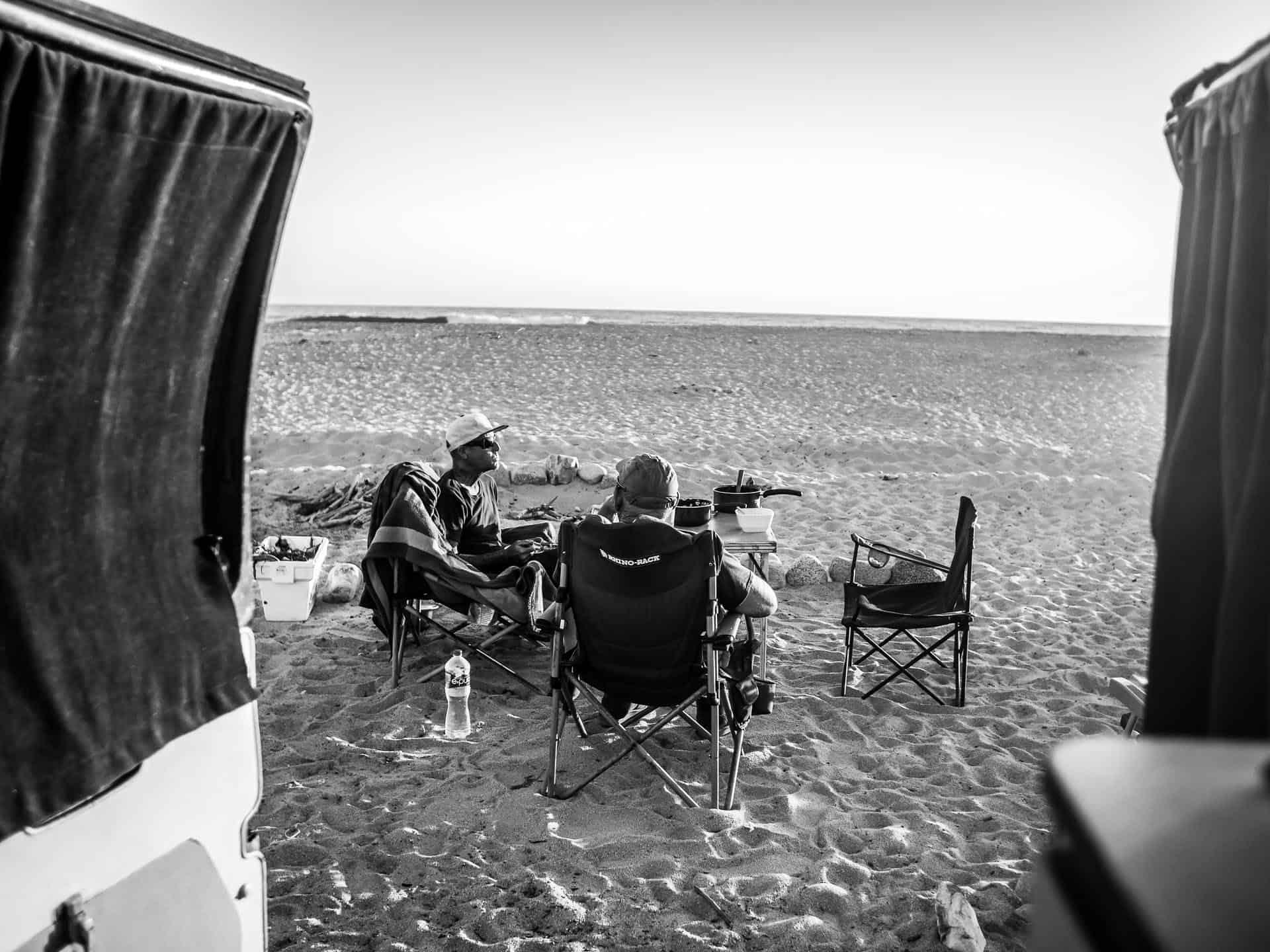 San Pedrito Beach Camping