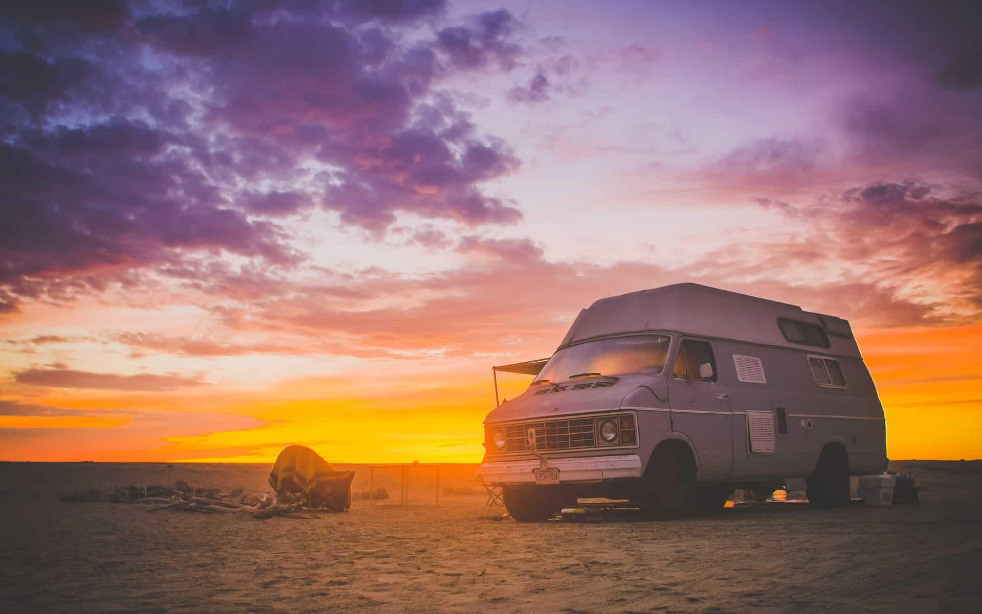 Vanlife San Pedrito Beach Baja California
