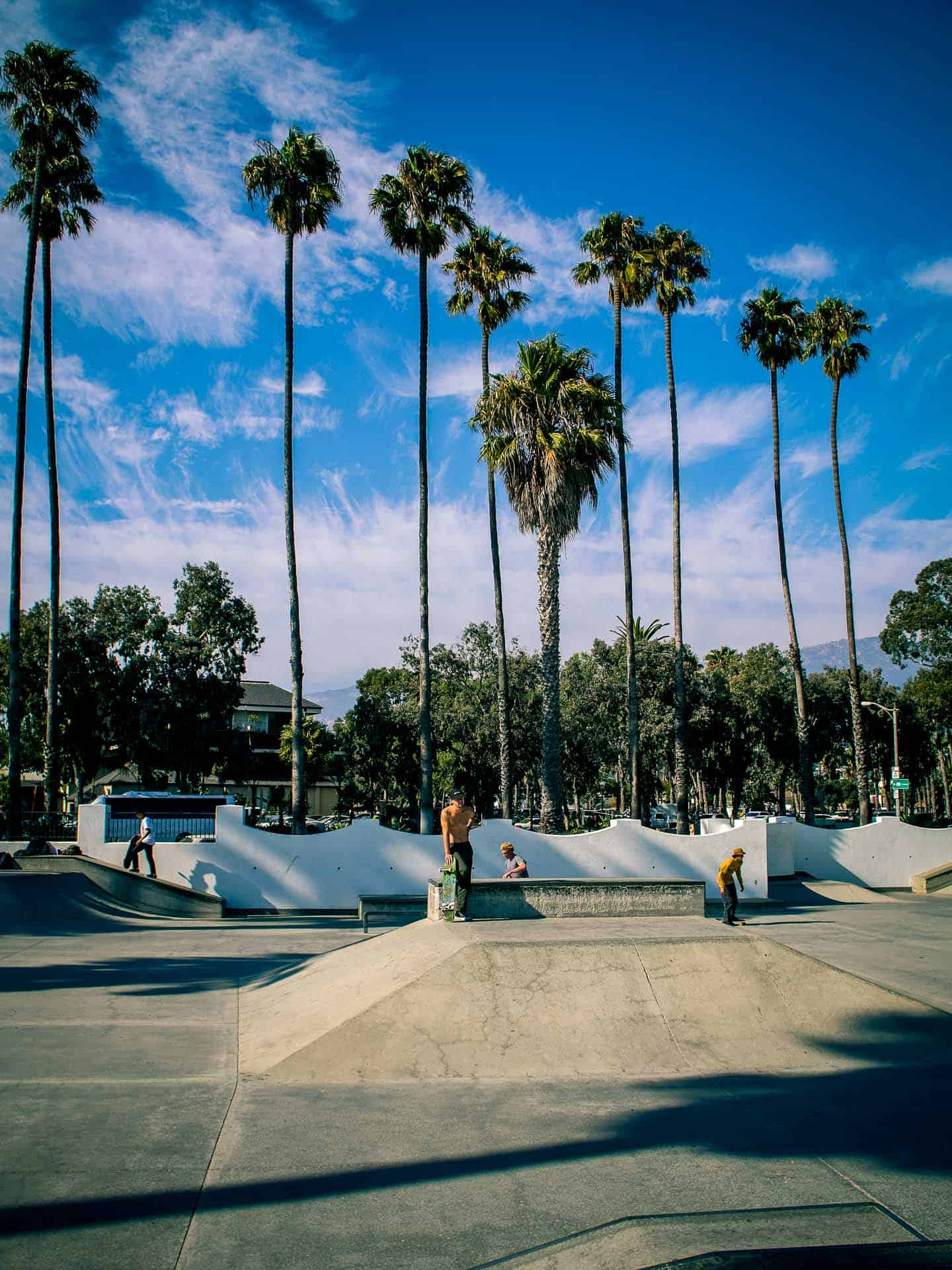 skatepark santa barbara california photography road trip