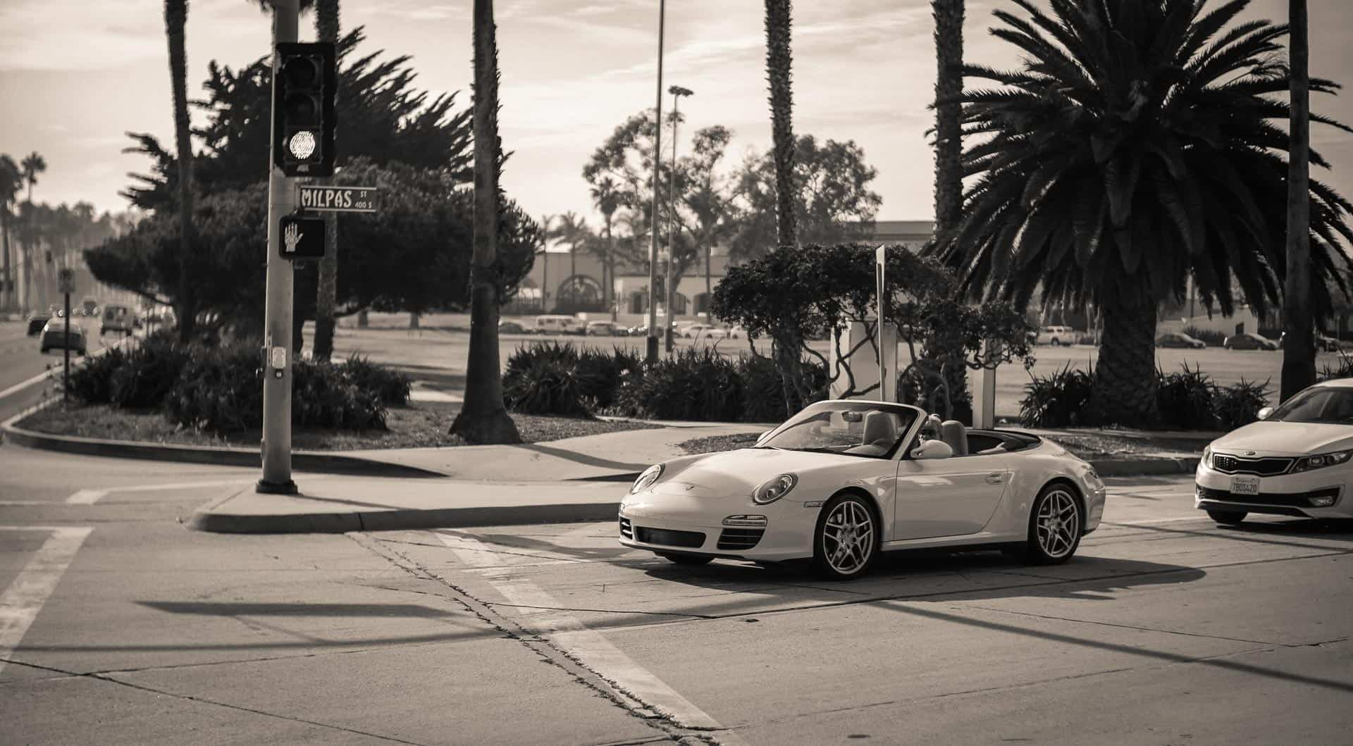 porsche santa barbara california photography road trip