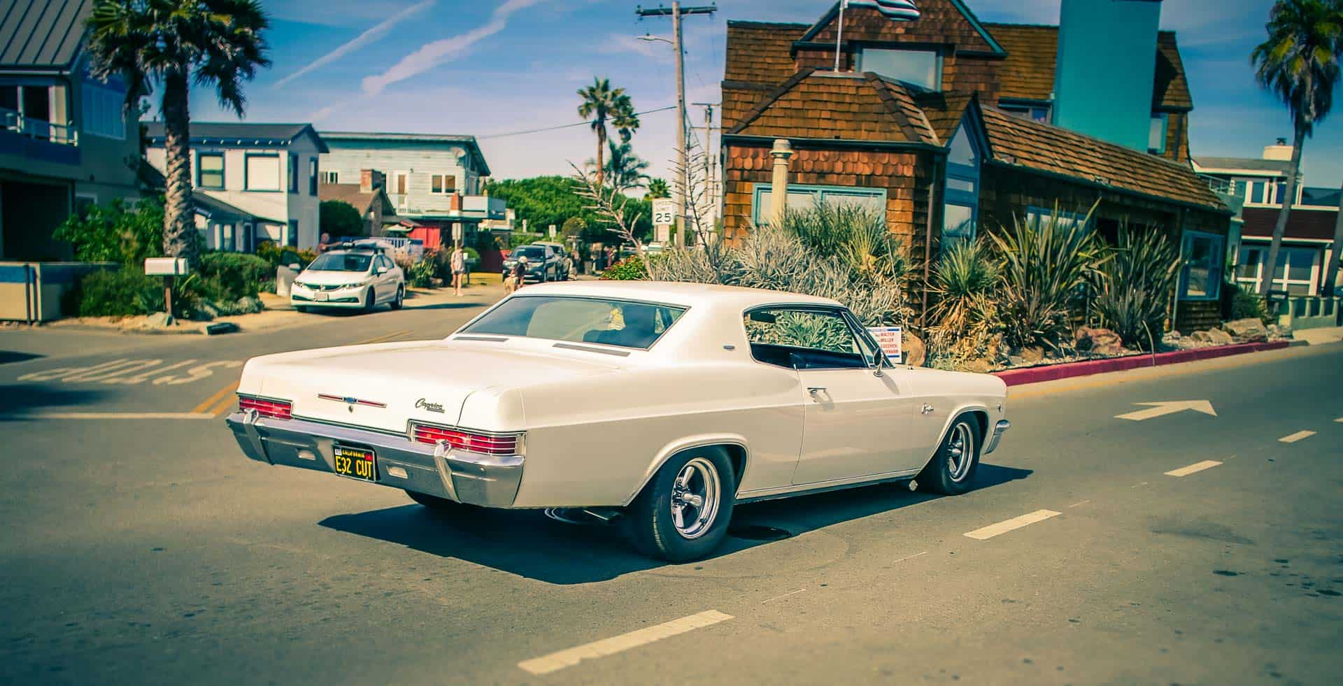 muscle car santa cruz california photography road trip