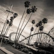 rollercoaster santa cruz california photography road trip