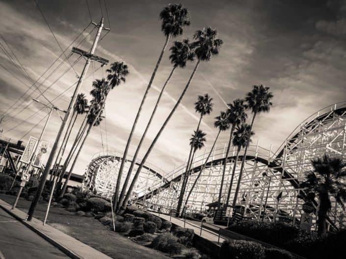 rollercoaster santa cruz california photography road trip