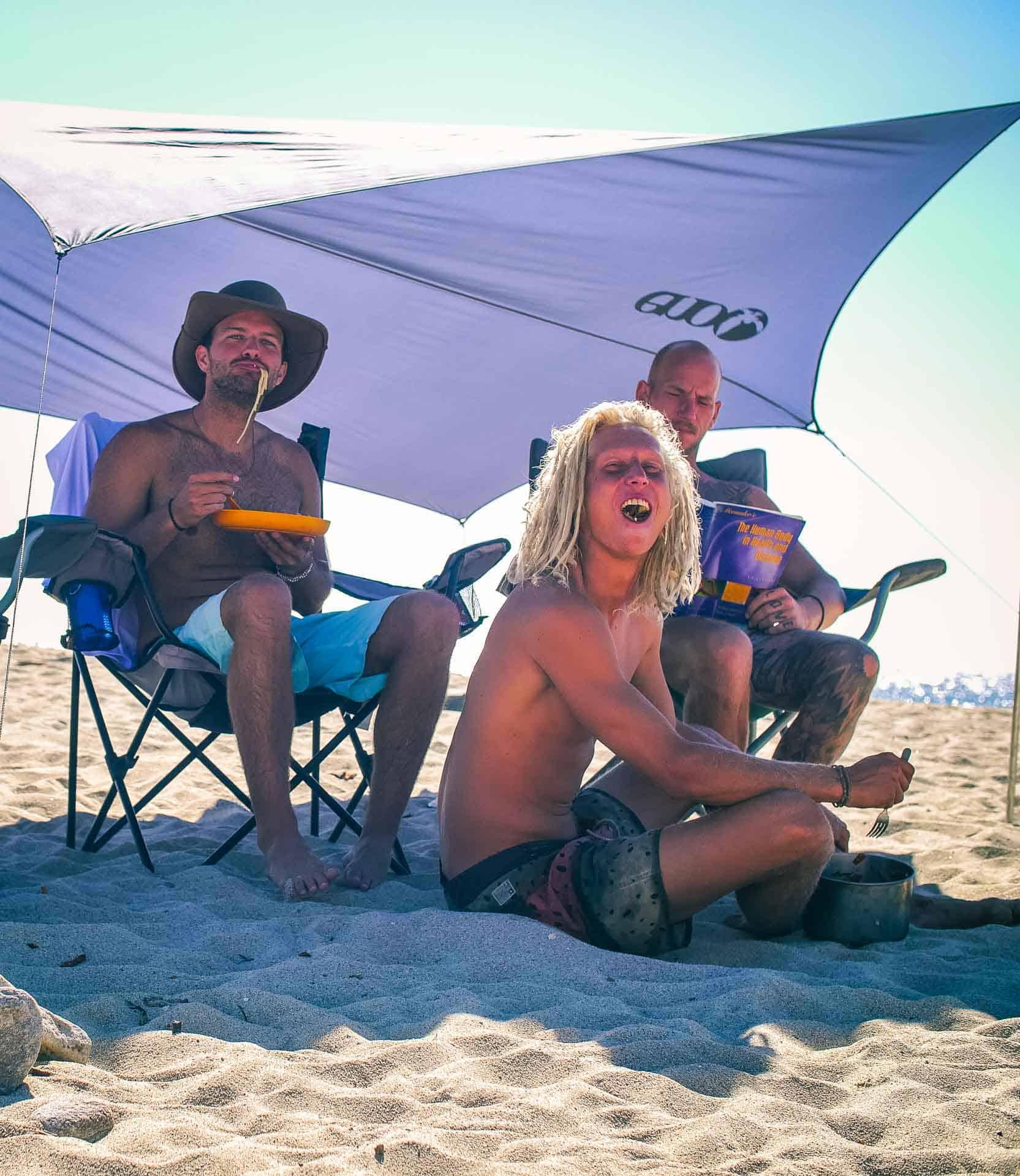 Surfer Dudes of San Pedrito Baja California