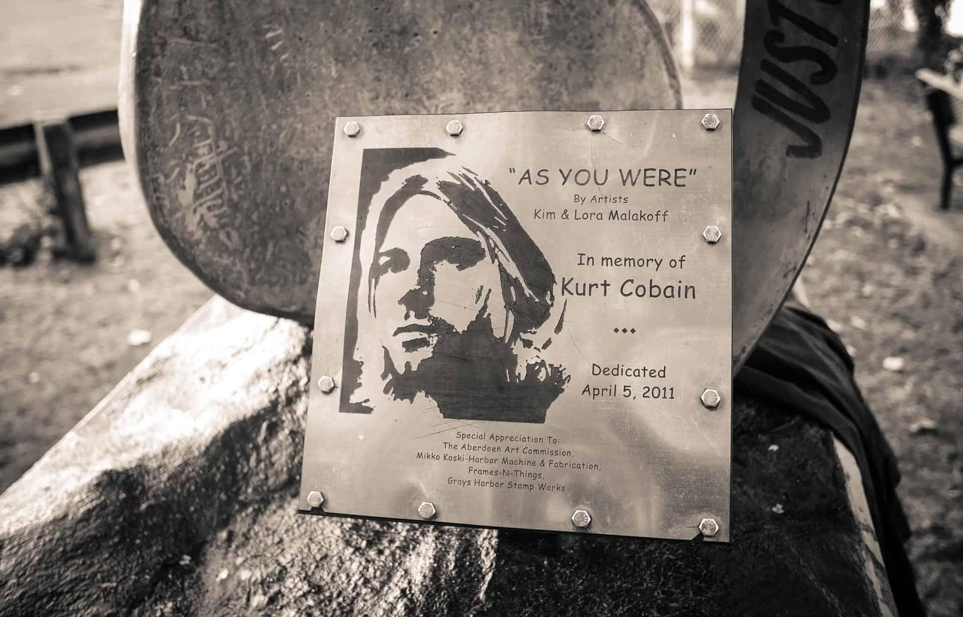 Nirvana Kurt Cobain Aberdeen Washington