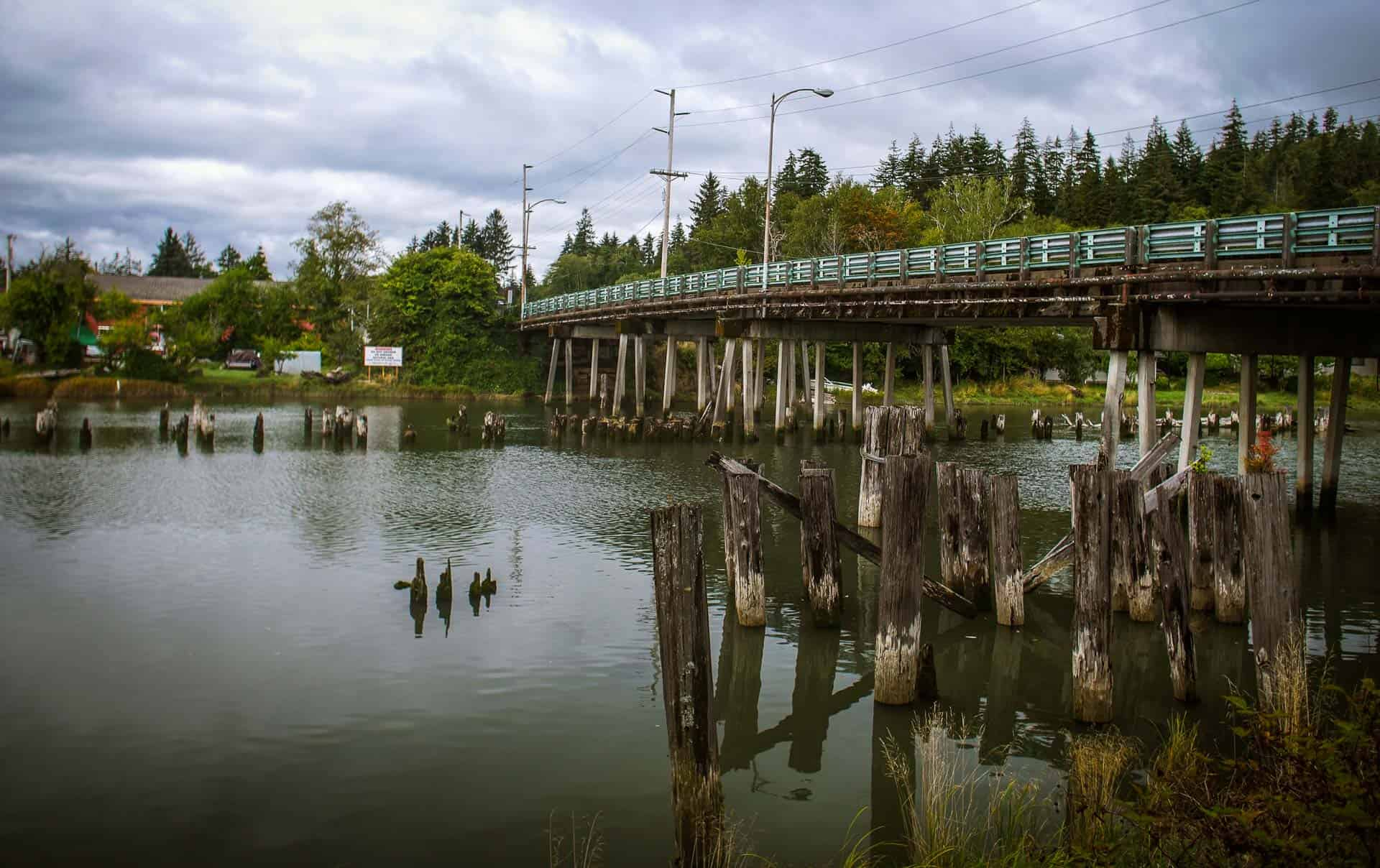 Wishkah Aberdeen Washington State Road Trip Photography