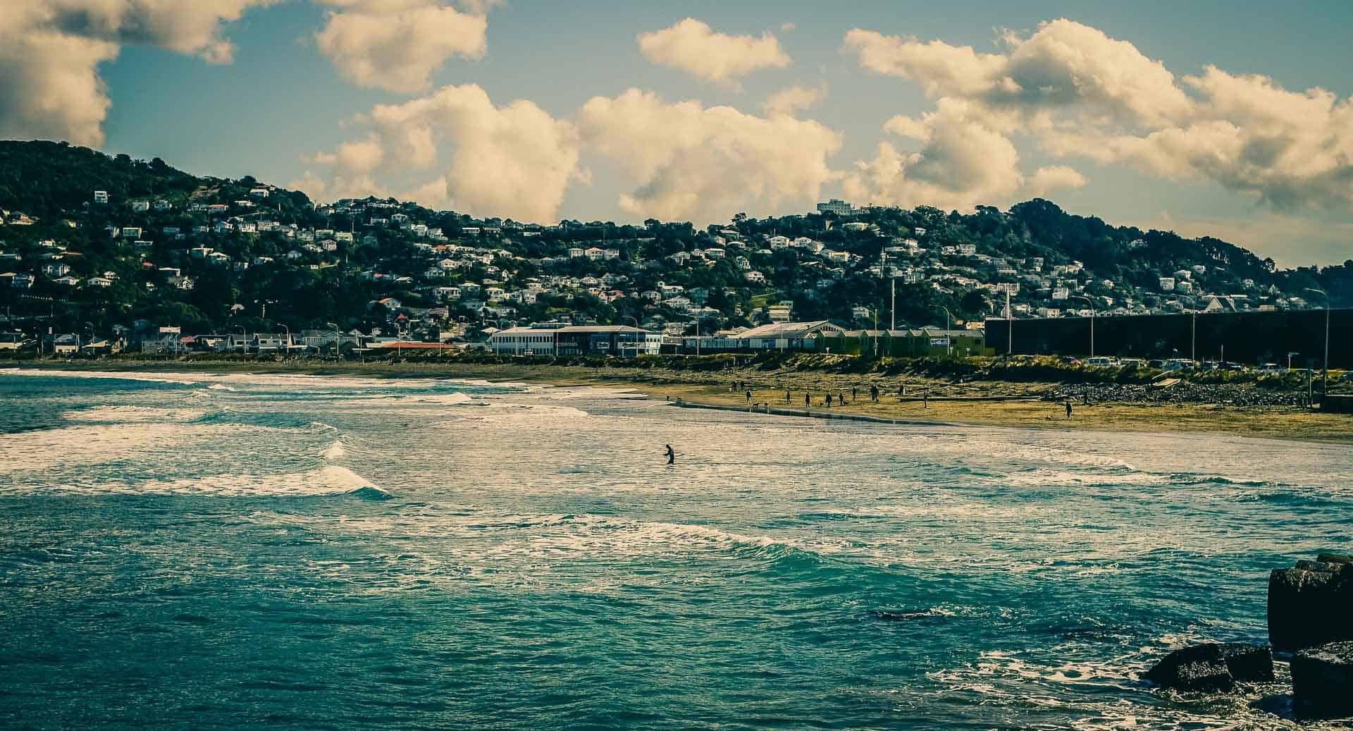 Wellington Surfing New Zealand